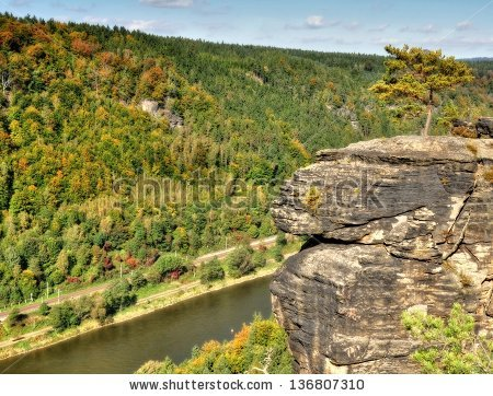 Bohemian Switzerland Stock Photos, Royalty.