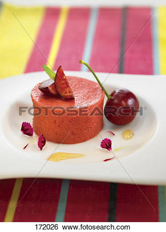 Stock Images of Cherry, Kirsch and Sherry Bavarian 172026.
