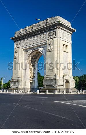 Arch Bucharest Romania Triumphal Stock Photos, Images, & Pictures.