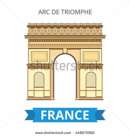 Arc De Triomphe Stock Photos, Royalty.