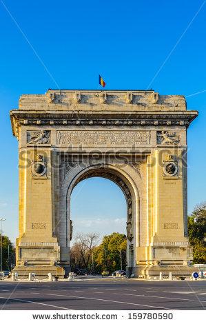 Triumphal Arch Stock Photos, Royalty.