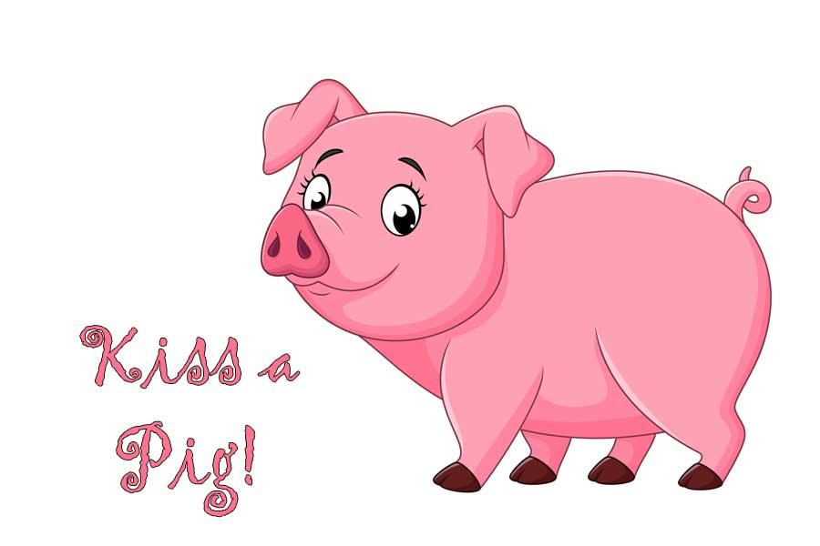 SGA sponsors \'Kiss a Pig\' fundraiser.