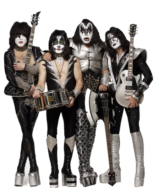 Kiss Band Png & Free Kiss Band.png Transparent Images #3286.