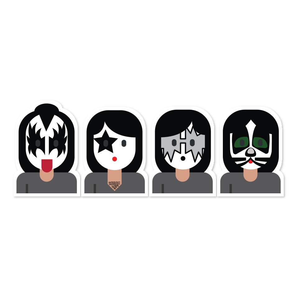 Musician Musical ensemble Emoji Black Veil Brides.