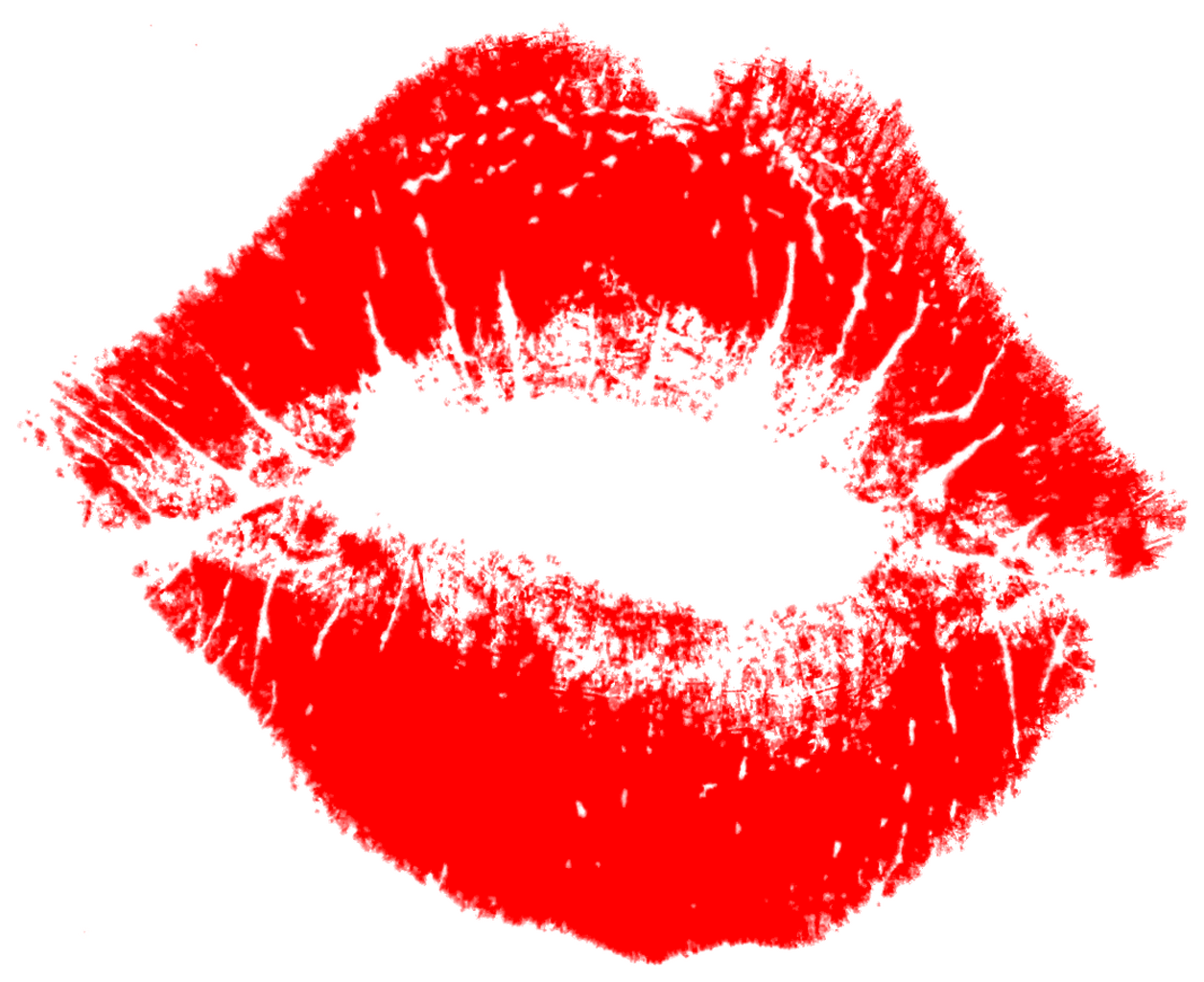 Kiss clipart no background.
