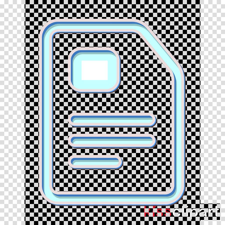 business icon file icon finance icon clipart.
