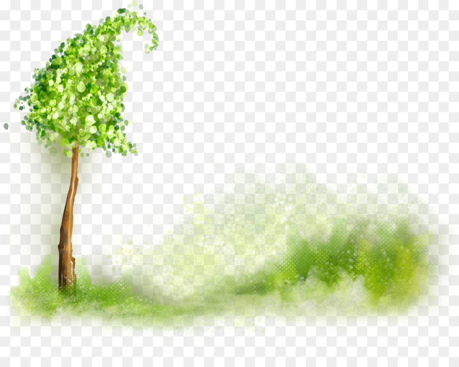 Watercolor Nature Background clipart.