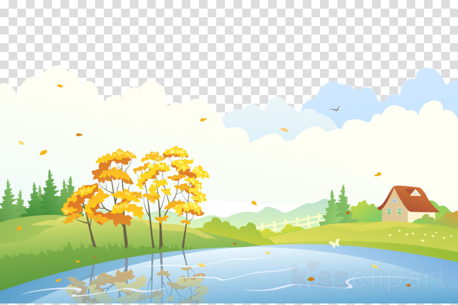 natural landscape nature sky daytime water clipart.