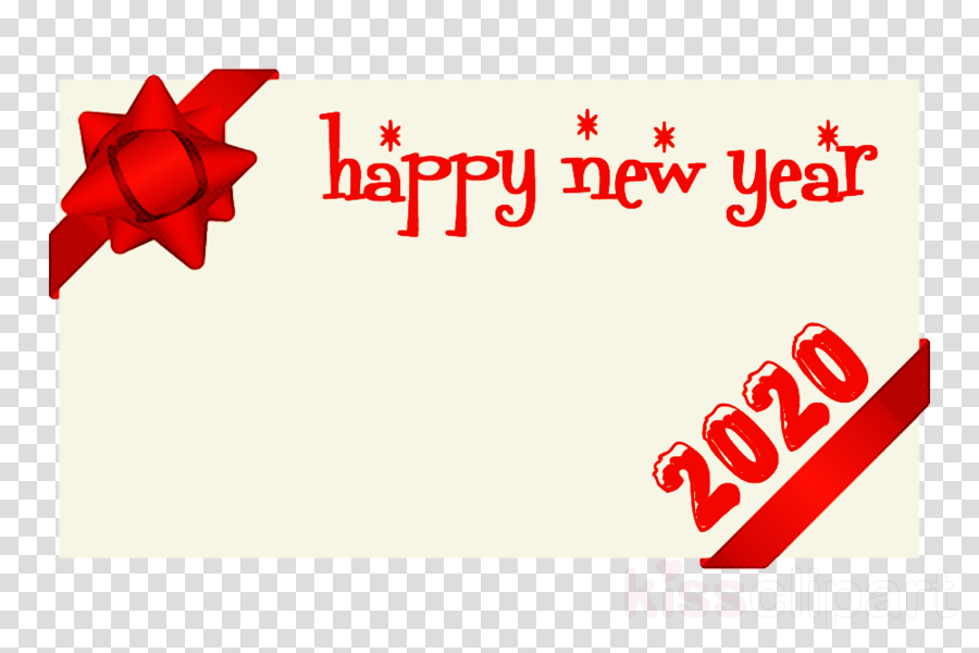 happy new year 2020 clipart.