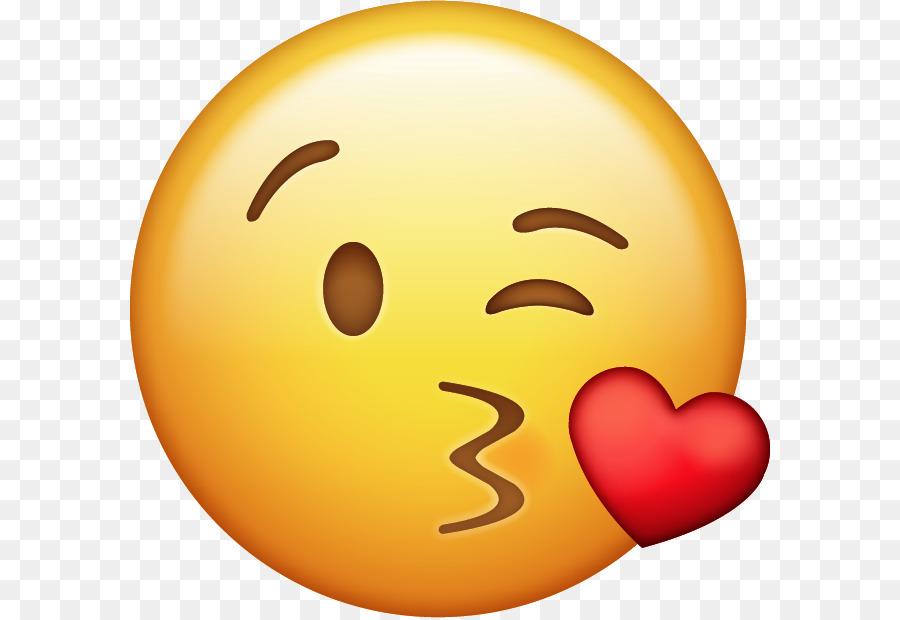 Kiss Emoji clipart.