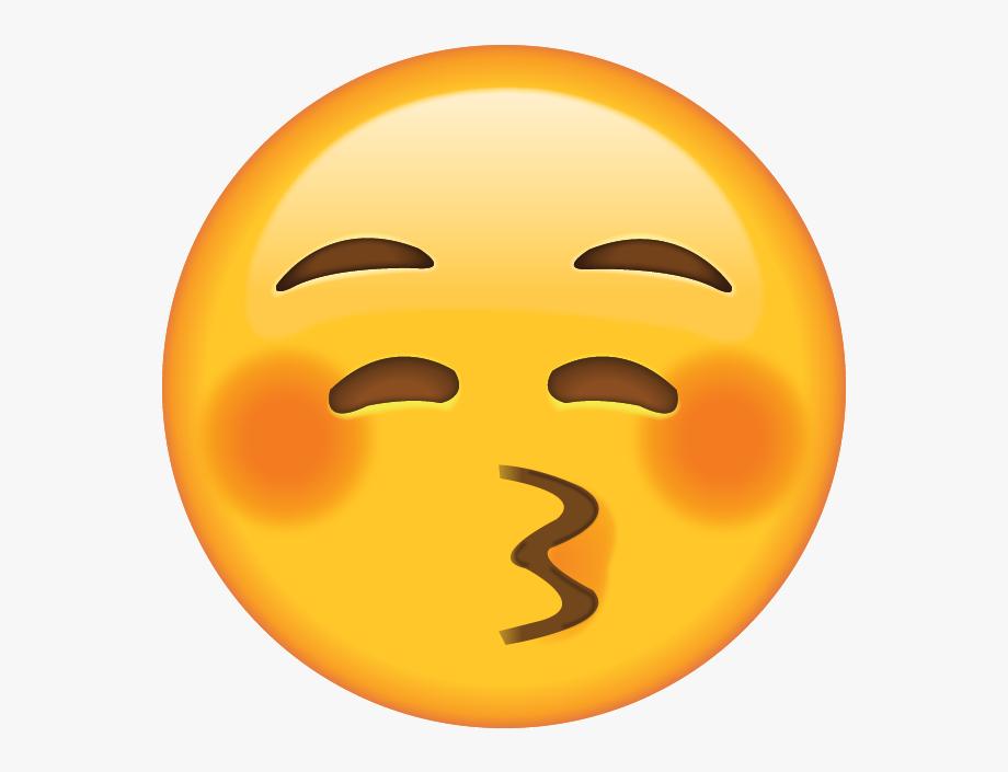 Download Kiss Emoji [free Png.