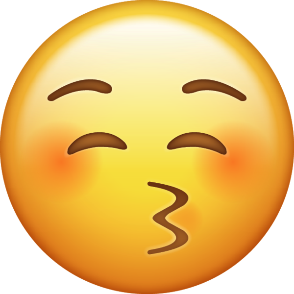 Kiss Emoji [Download iPhone Emojis].
