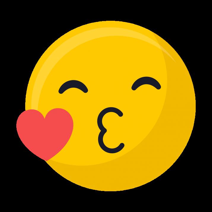 Kiss Emoji PNG Image Free Download searchpng.com.