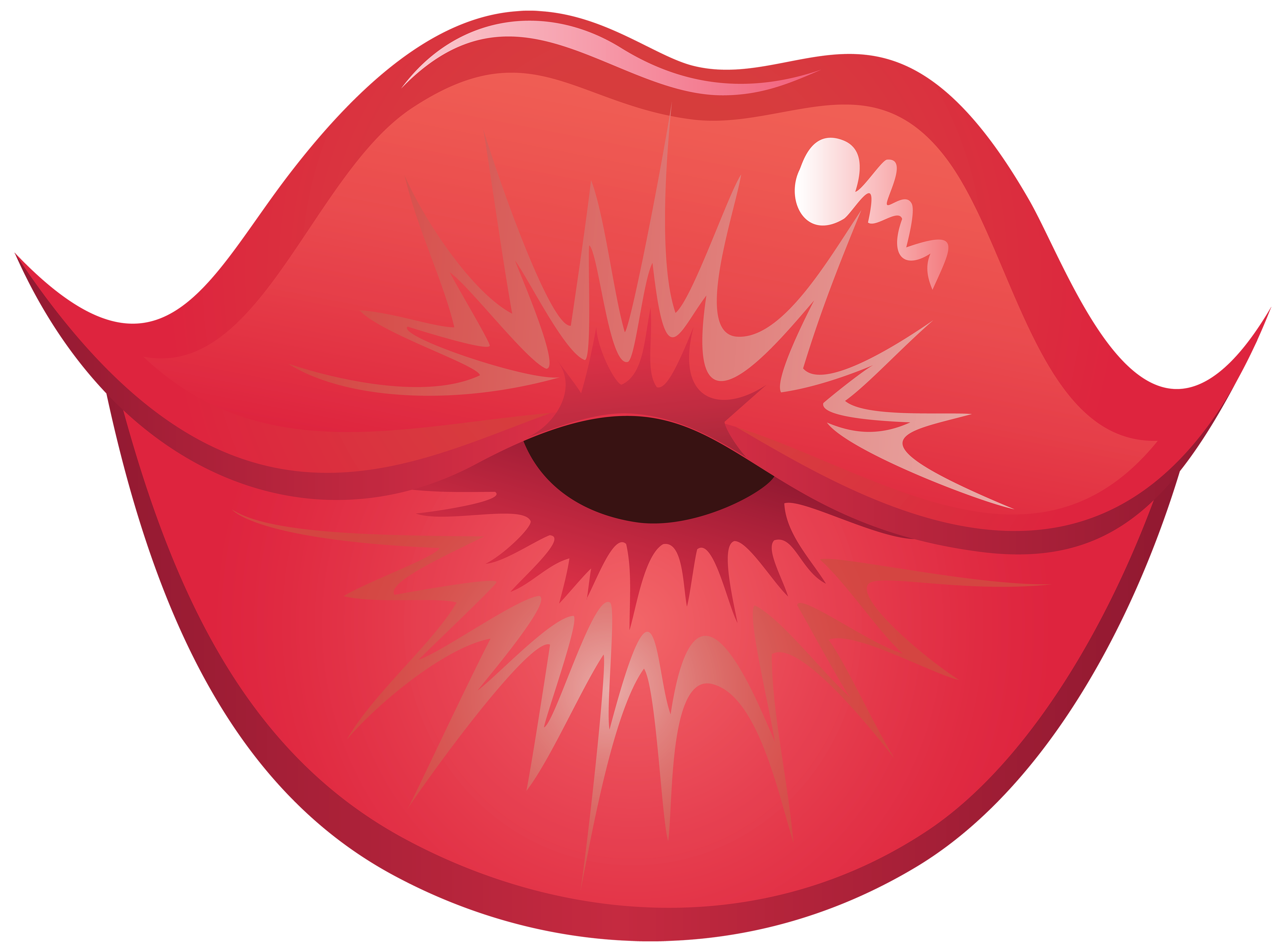 Kiss Lips PNG Clipart.