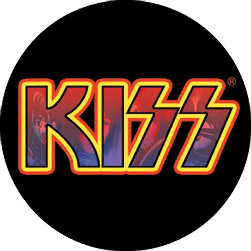 KISS Logo Button.