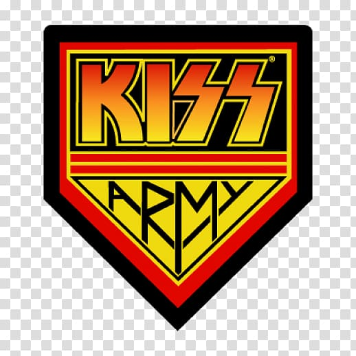 Kiss Army Logo Alive!, kiss transparent background PNG.
