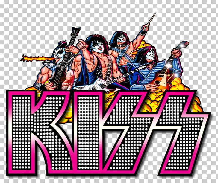 Kiss Visual Pinball Logo Stern Electronics PNG, Clipart, Art.