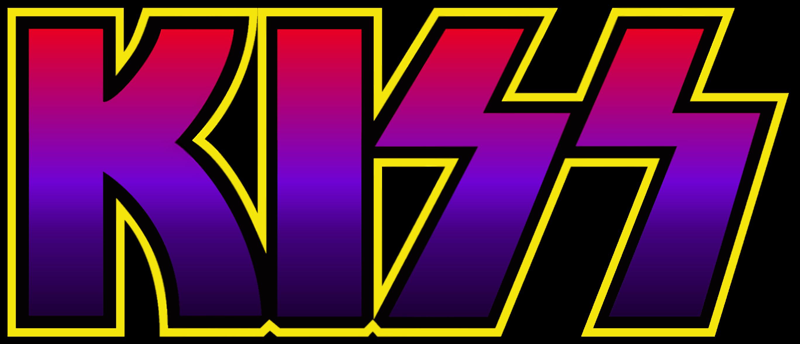 Homemade KISS logos for fun :).