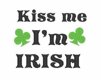 Kiss Me I\'m Irish Clipart.