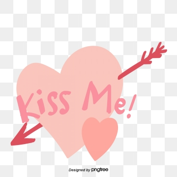 Kiss Me PNG Images.