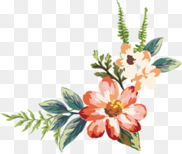Simple Flowers PNG.