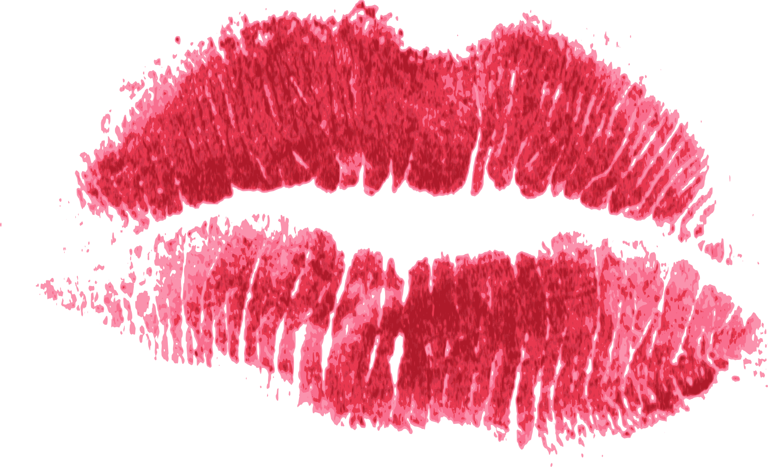Kiss Transparent PNG, Kiss Mark, Lips, Red And Pink Kiss.png Images.