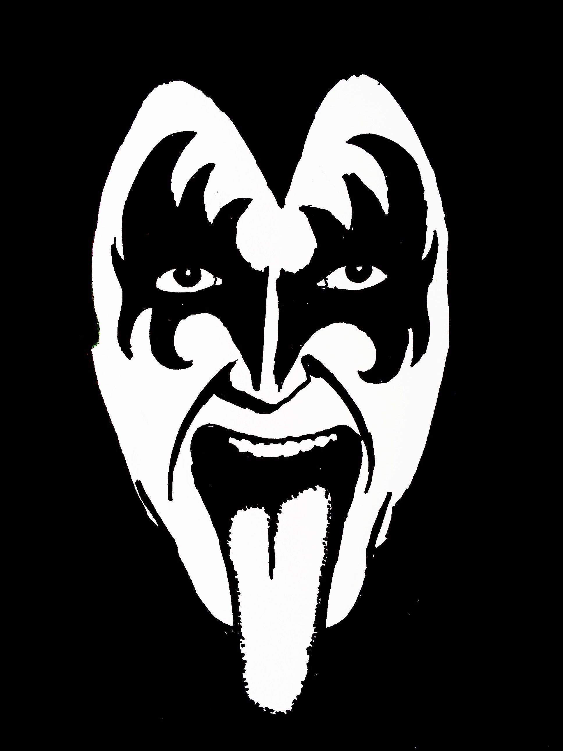 Gene Simmons Drawing.