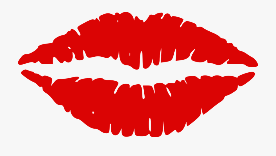 Lips Kiss Mouth Red Sexy Passion Lipstick.