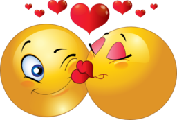 Kissing clipart #7