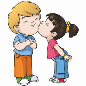 Kissing Clip Art.