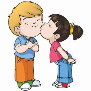 Kissing Clip Art.