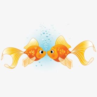 Fish Kissing Gourami Illustration.
