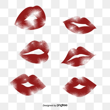 Kissing Lips PNG Images.