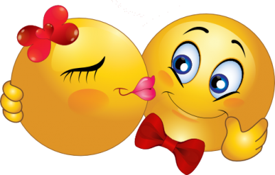 Download KISS SMILEY Free PNG transparent image and clipart.