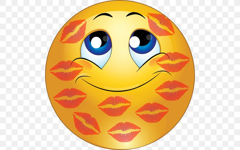 Smiley Emoticon Kiss Face Clip Art, PNG, 512x511px, Smiley.