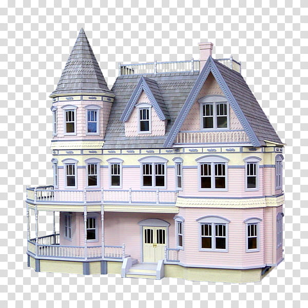 Real Estate, Dollhouse, Toy, Houseworks Princess Anne.