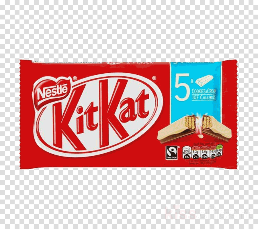kit kat cookies & cream clipart Kit Kat Biscuits clipart.