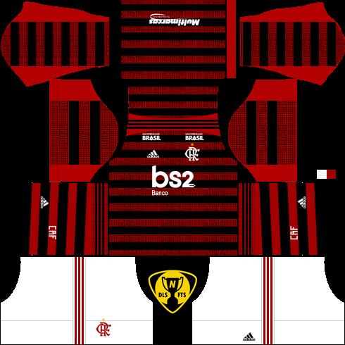 KITS Flamengo 19/20 DLS E FTS.