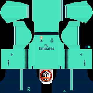 Real Madrid 2019/2020 Kit.