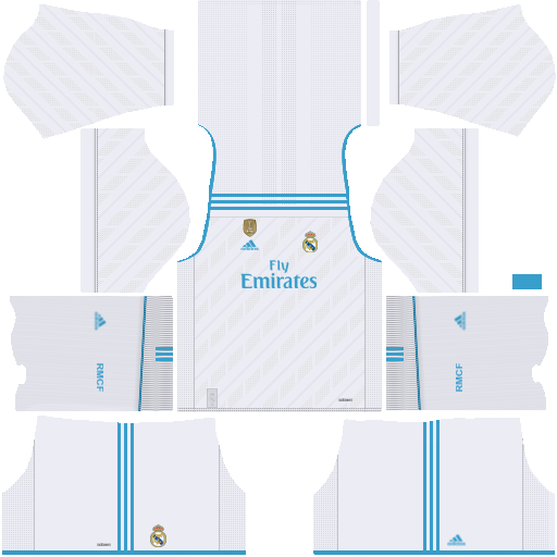 real madrid dls 19 kits with url and logo.