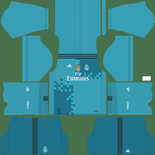 Dream League Soccer Real Madrid Kits 2018 {DLS Kits & Logo 2017.