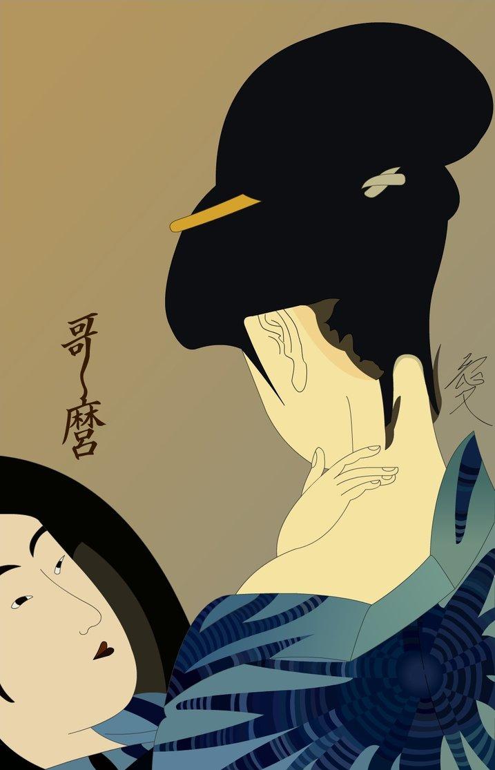 Kitagawa Utamaro Ukiyoe by YukiSakuma on DeviantArt.