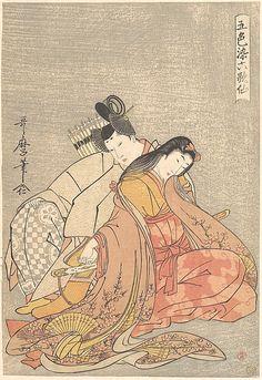 Making Silk by Kitagawa Utamaro (1753.