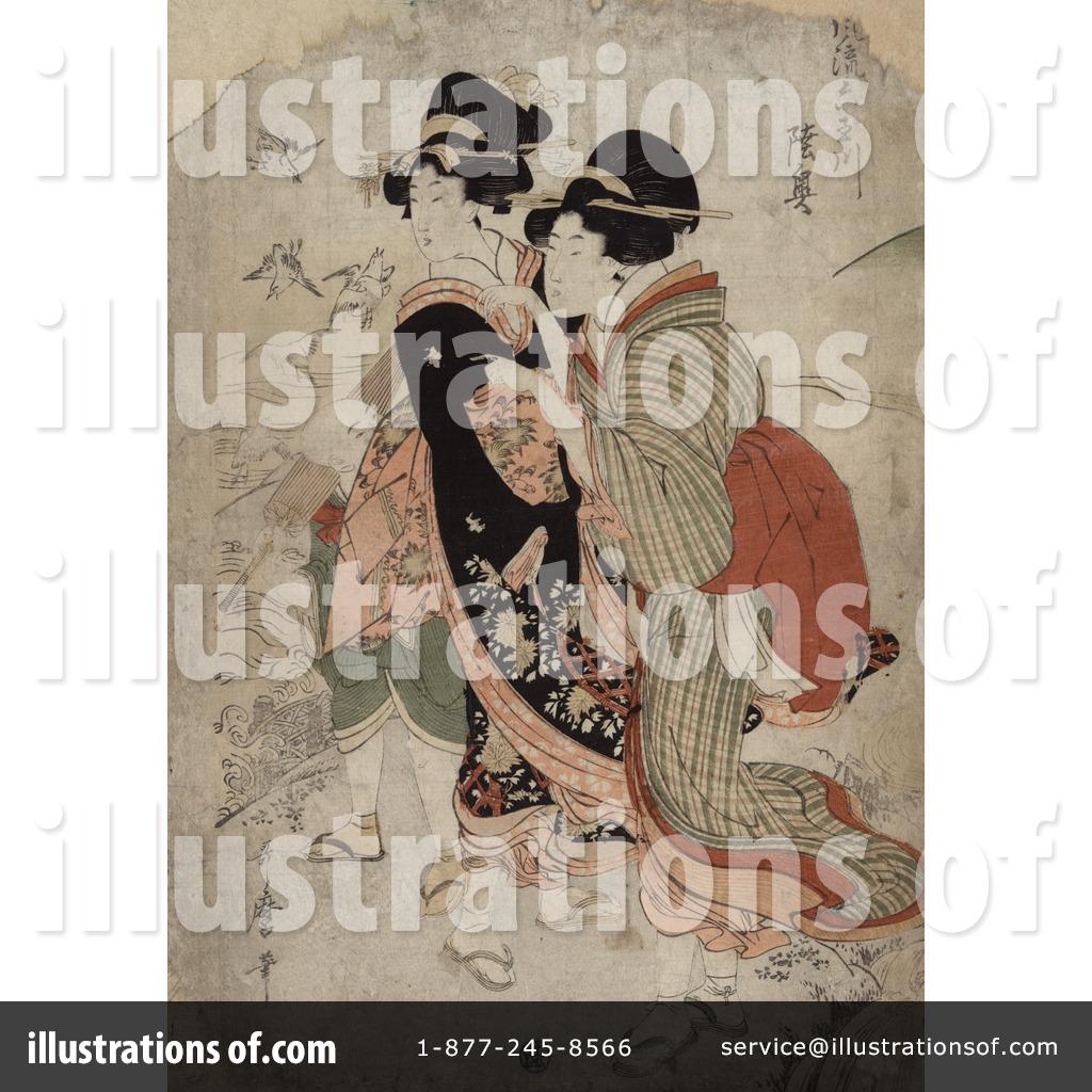 Utamaro Kitagawa Clipart #1070732.