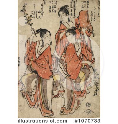 Utamaro Kitagawa Clipart #1070733.