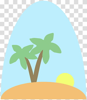 Doini Island transparent background PNG cliparts free.