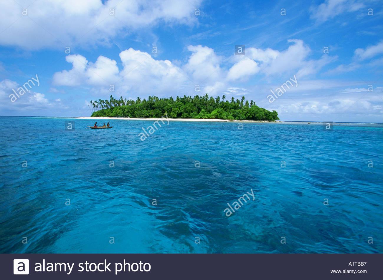 Dobu Island Off Kitava Island The Trobriands Papua New Guinea Stock.