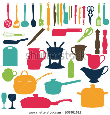 Similiar Cooking Utensils Clip Art Heard Keywords.
