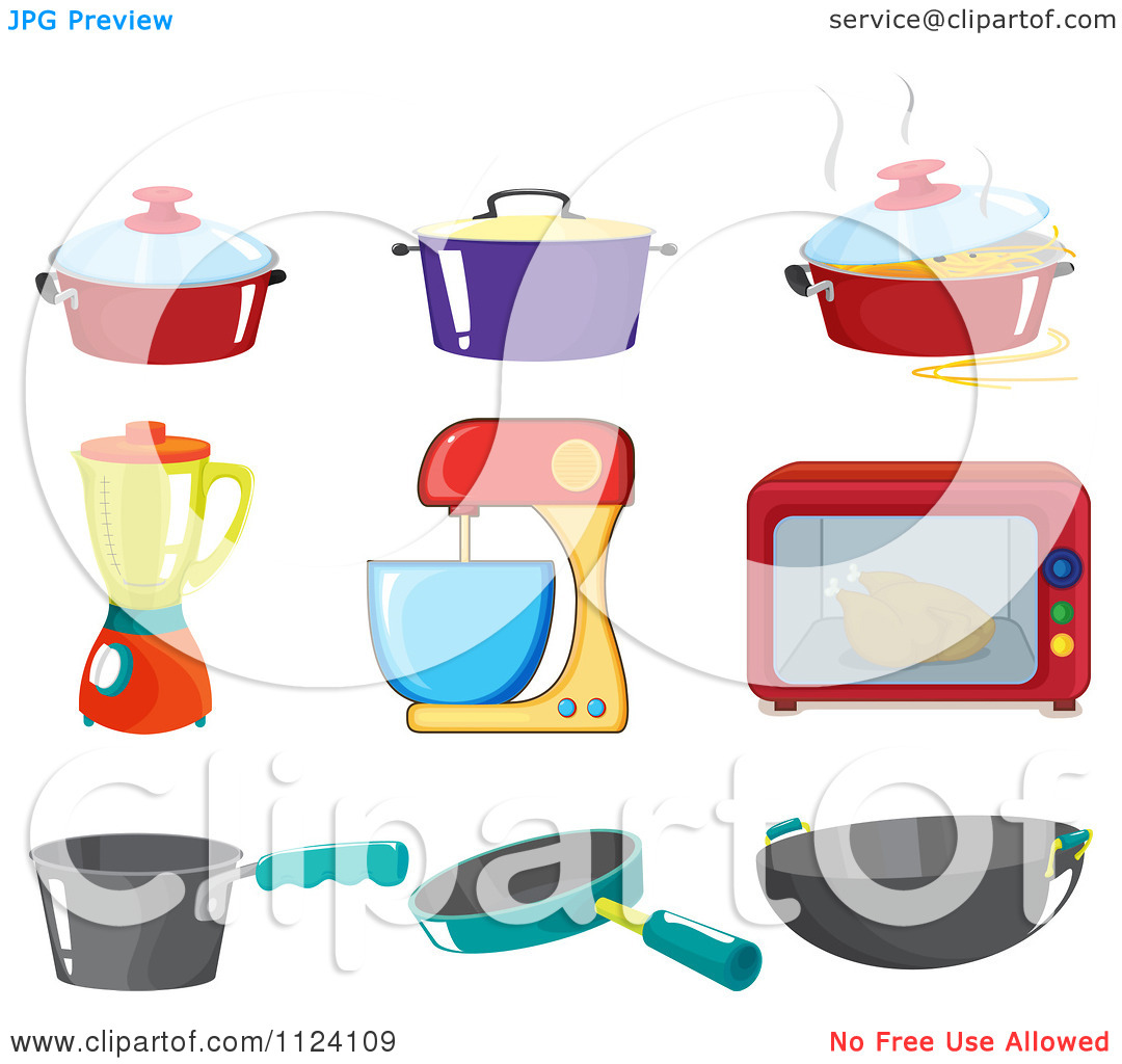 Kitchen Appliances Clipart Design Inspiration 1214769 Kitchen.