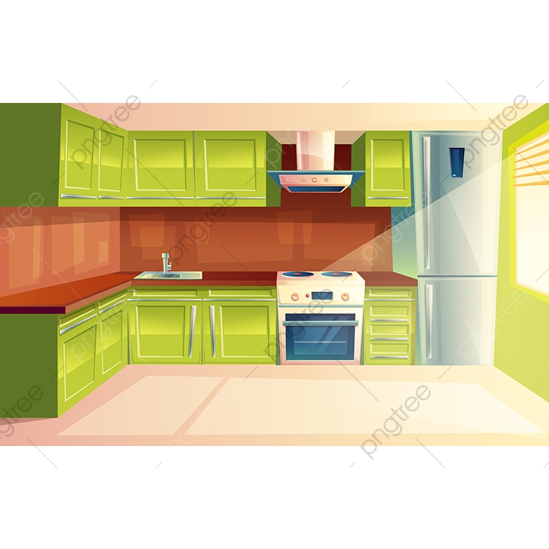Download High Quality kitchen clipart modern Transparent PNG.